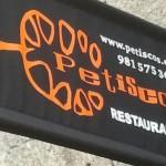 Banderola restaurante Petiscos