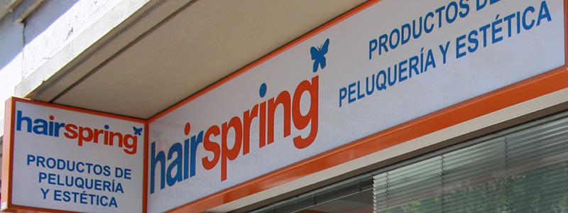 Hairspring productos de estética Santiago de CompostelaDe