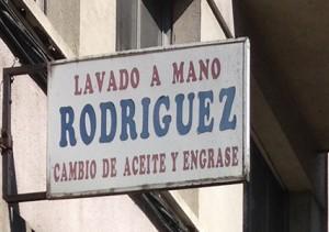 Lavado a mano Rodríguez
