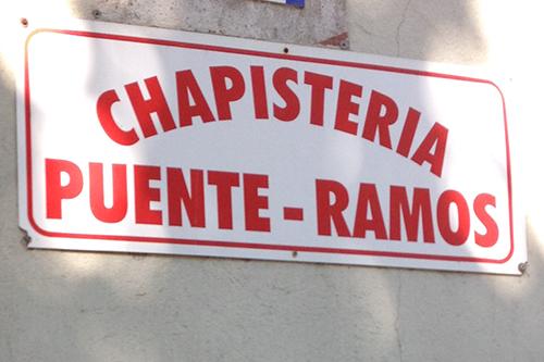 Chapistería Puente-Ramos Santiago de Compostela