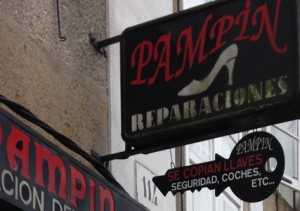 Reparación de calzado Pampín