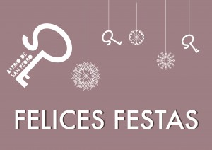 Cartel Felices Festas