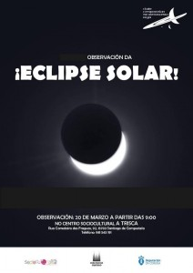 Eclipse solar na Trisca